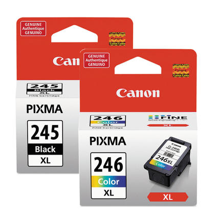 Canon PIXMA MG2924 Original Ink Cartridges Black & Colour Combo, 2 pack - High Yield