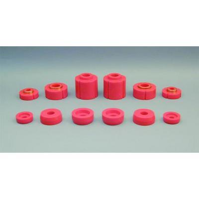 Prothane Motion Control Body Mount Kit (Red) - 6-108