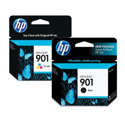 HP OfficeJet J4550 cartouches d'encre noire et couleur originale combo