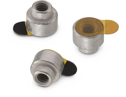 Wurth Elektronik 9774040243R, 4mm High Steel SMT Round Spacer for M2 Screw (600)