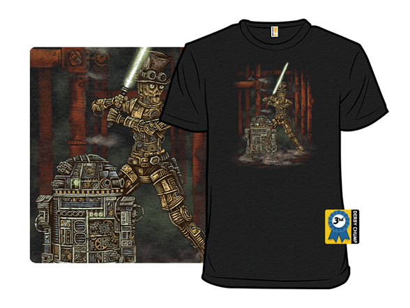 Victorian Battle Droids T Shirt