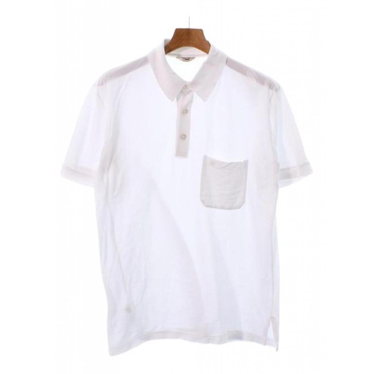 Hermès \N White Cotton Polo shirts for Men L International