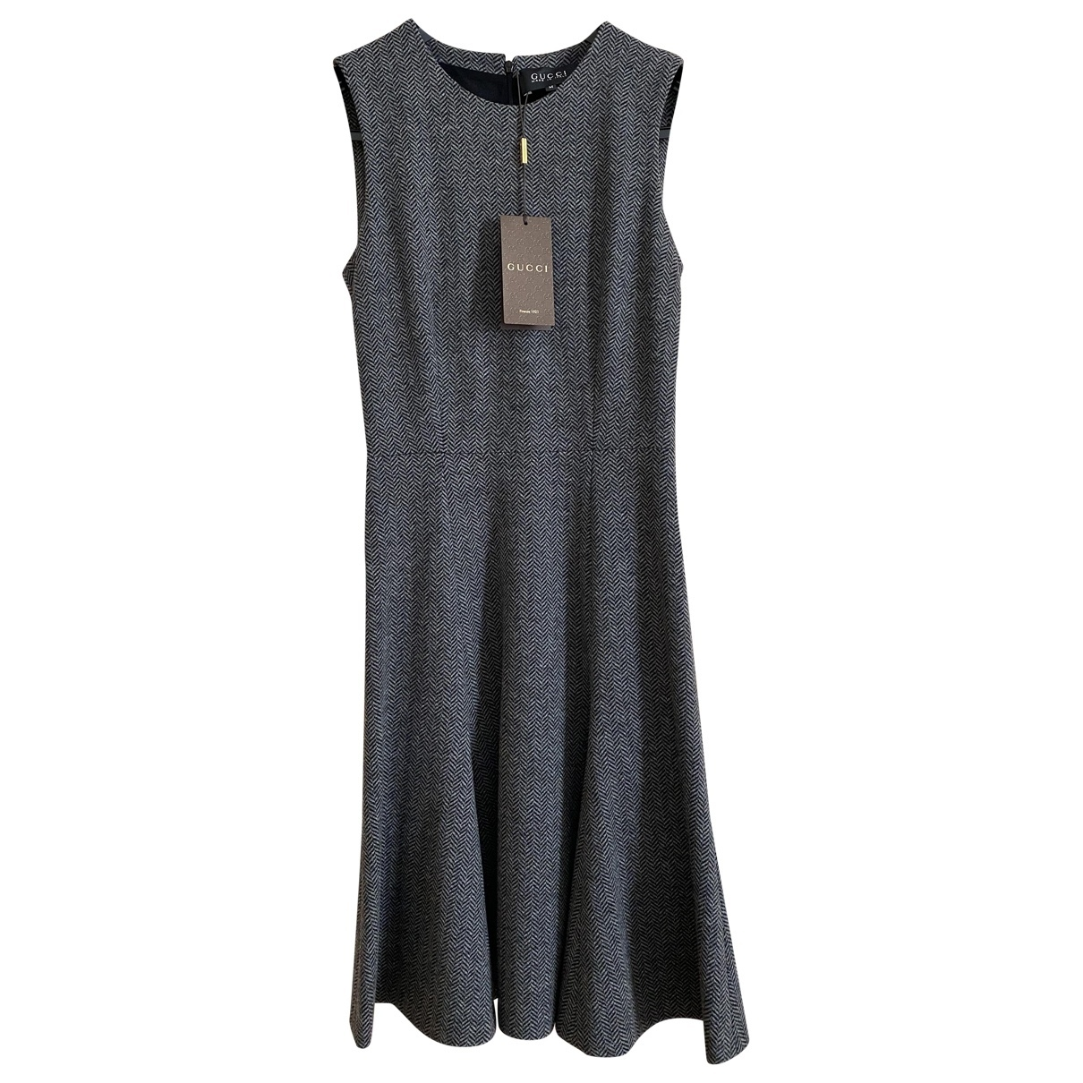Gucci \N Grey Wool dress for Women 42 IT