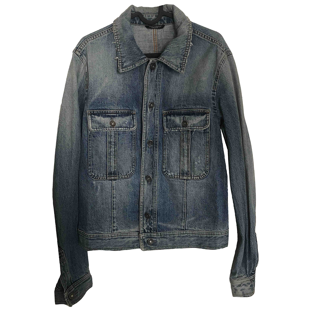 Dolce & Gabbana \N Blue Denim - Jeans jacket  for Men 44 IT