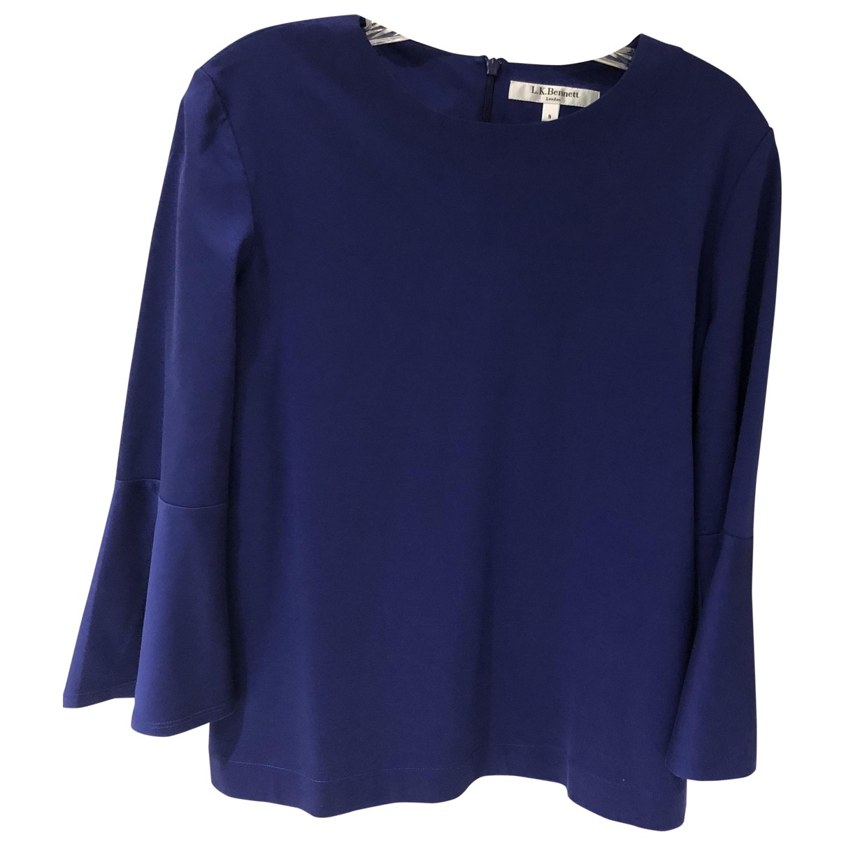Lk Bennett \N Blue Cotton  top for Women S International