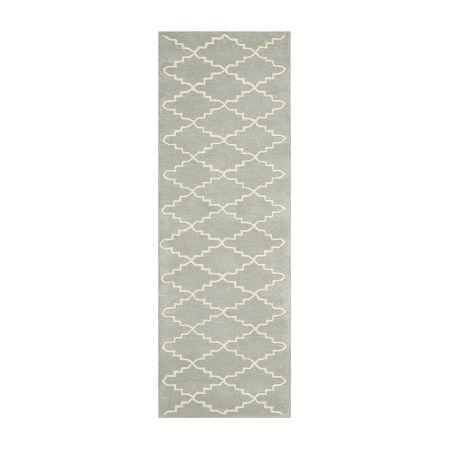 Safavieh Brittania Geometric Hand-Tufted Wool Rug, One Size , Blue