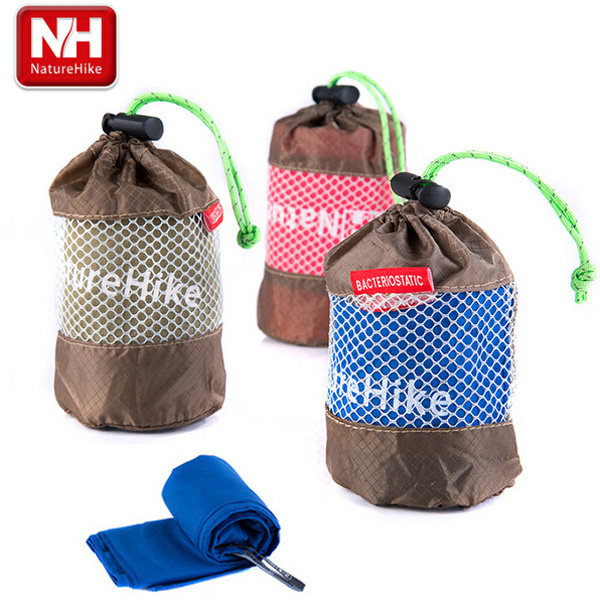 NatureHike Quick-drying Microfiber Towel Outdoor Travel Antibacterial Sport Towel