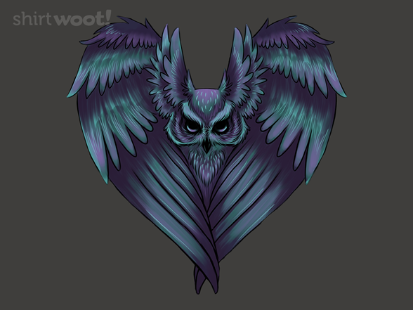 Owl Heart T Shirt