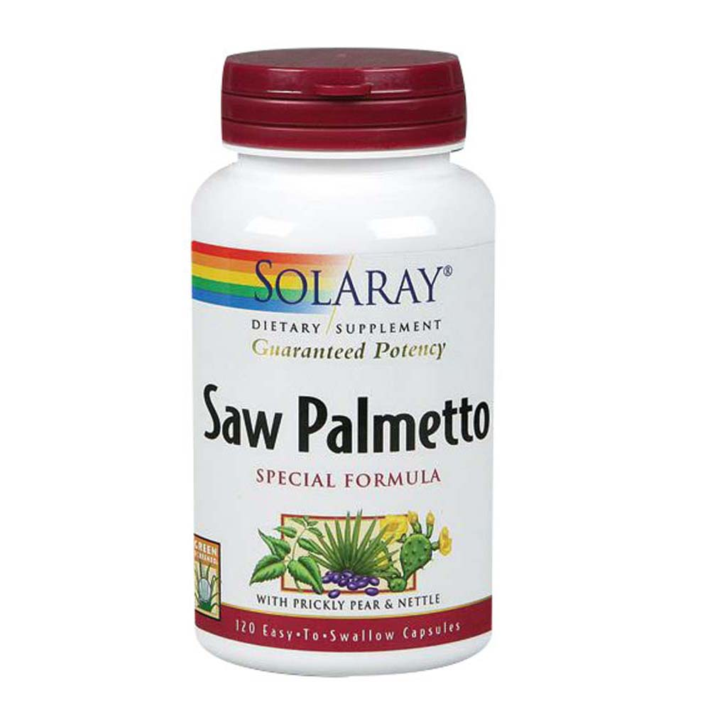 Saw Palmetto Special Formula 120 Caps by Solaray