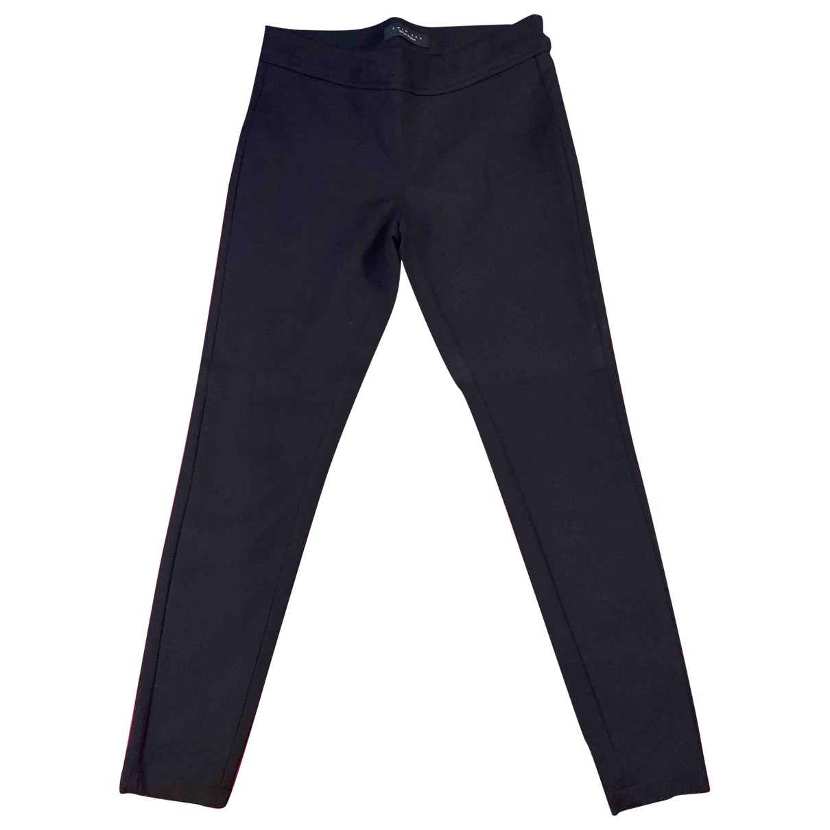 Twin Set \N Black Cotton Trousers for Women XS International