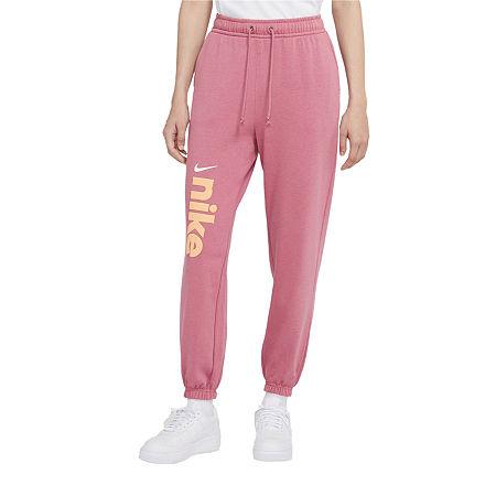Nike Womens Mid Rise Jogger Pant, X-large , Purple