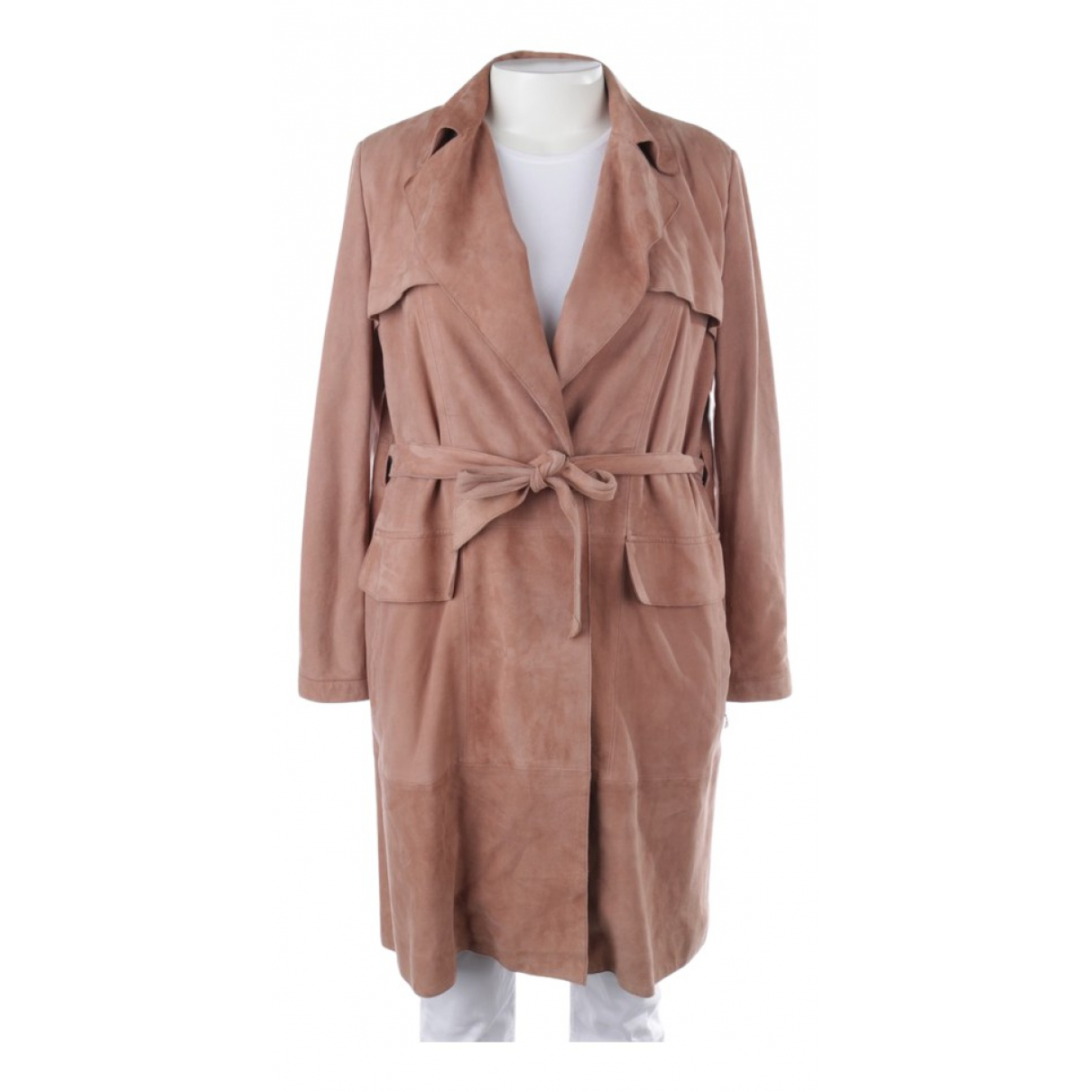 Marc Cain \N Brown Leather jacket for Women 44 FR