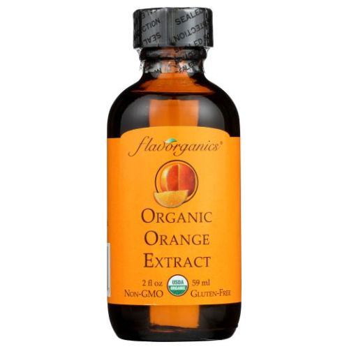 Organic Extract ORANGE 2 Oz by Flavorganics