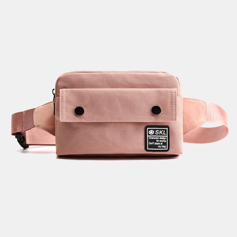 Women Nylon Water Resistant Multi-slot Crossbody Bags