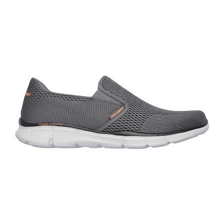 Skechers Equalizer-Double Play Mens Walking Shoes, 12 Medium, Gray