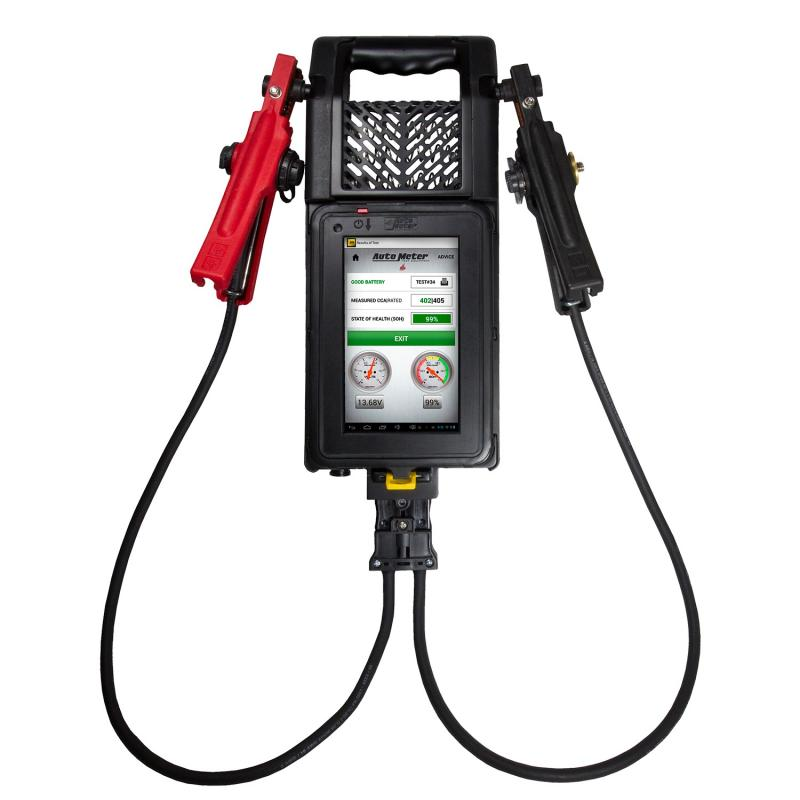 AutoMeter WIRELESS BATTERY AND SYSTEM TESTER; TABLET-BASED; HD TRUCK