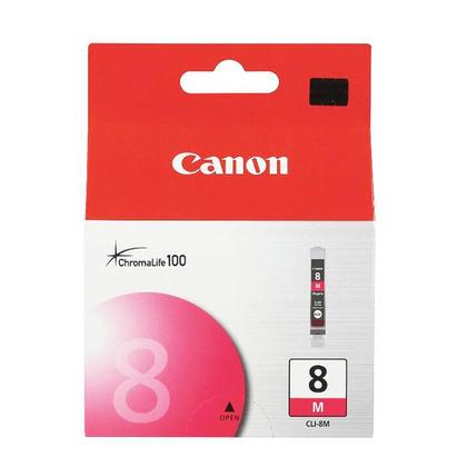 Canon CLI-8M 0622B002 Original Magenta Ink Cartridge