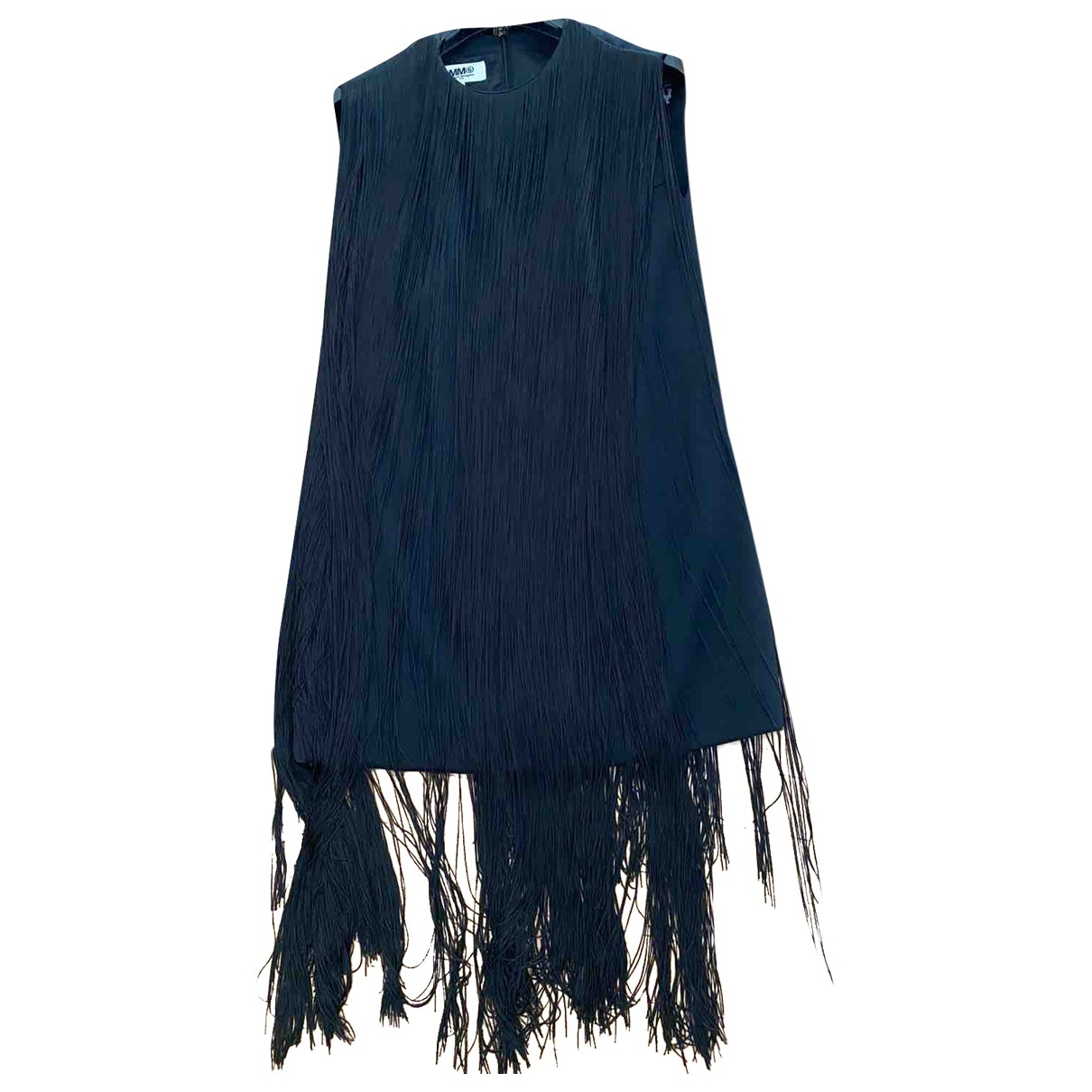 Mm6 \N Black Wool dress for Women 38 FR