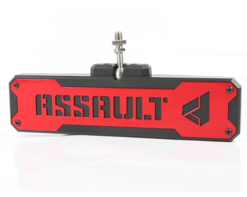Assault Industries 101005CM1202 Blue Bezel Set For Bomber Convex Center Mirror