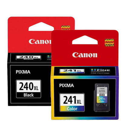 Canon PIXMA MG3520 Original Ink Cartridges Black & Colour Combo, 2 pack - High Yield