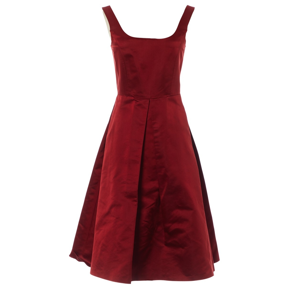 Burberry \N Red Silk dress for Women 8 UK