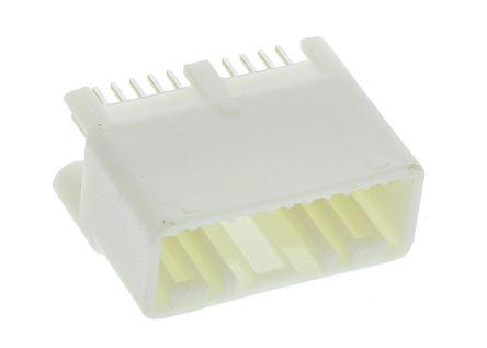 TE Connectivity , MULTILOCK 025, 24 Way, 2 Row, Straight PCB Header