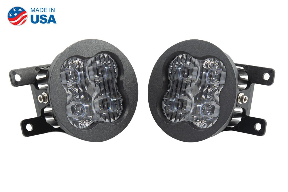 Diode Dynamics DD6176-ss3fog-2976 SS3 LED Fog Light Kit for 2015-2021 Subaru WRX White SAE/DOT Driving Sport