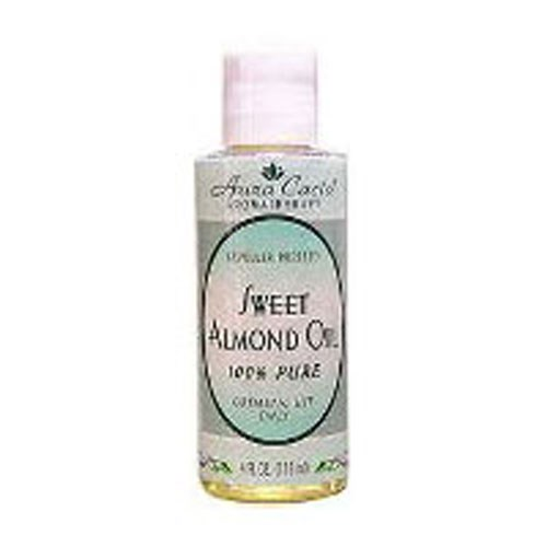 Pure Skin Care Oil Sweet Almond 4 fl oz by Aura Cacia