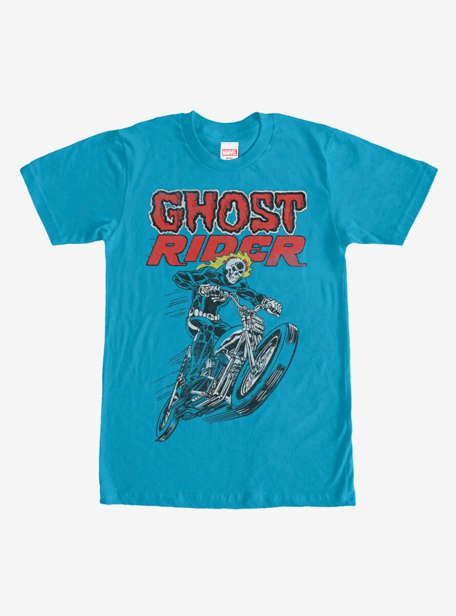 Marvel Ghost Rider Flames T-Shirt
