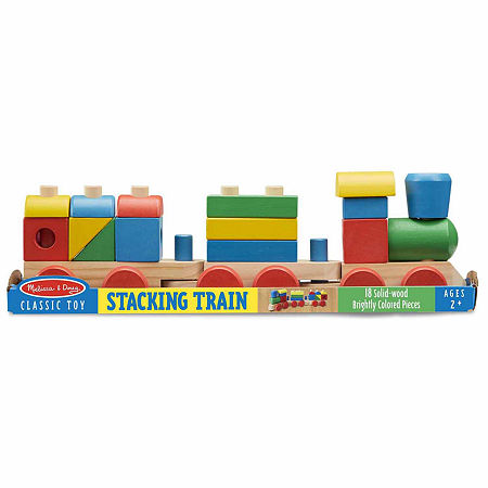 Melissa & Doug Stacking Train, One Size , Multiple Colors