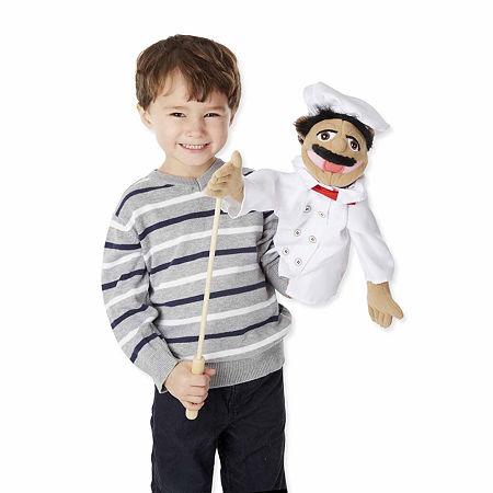 Melissa & Doug Chef Puppet, One Size , Multiple Colors