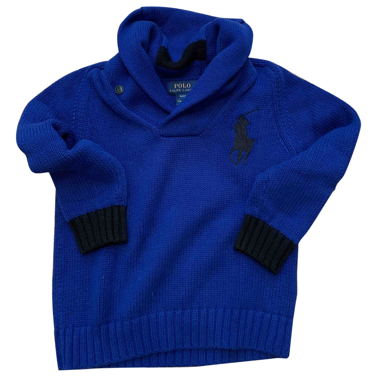 Polo Ralph Lauren \N Blue Cotton Knitwear for Kids 4 years - until 40 inches UK