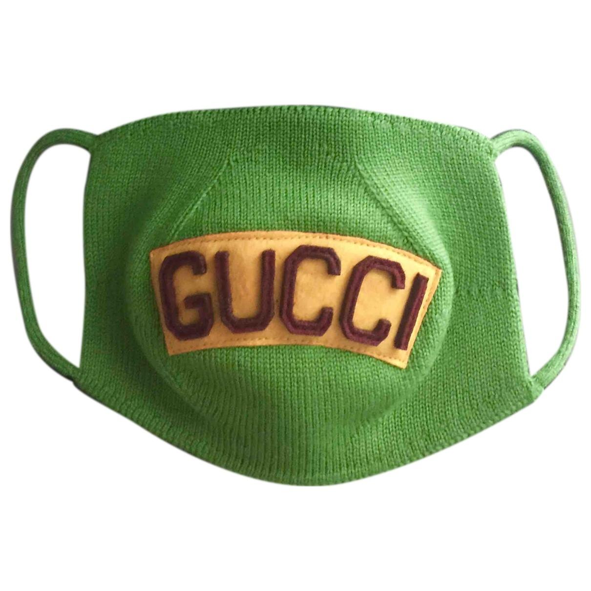 Gucci \N Black Wool hat & Gloves for Kids \N