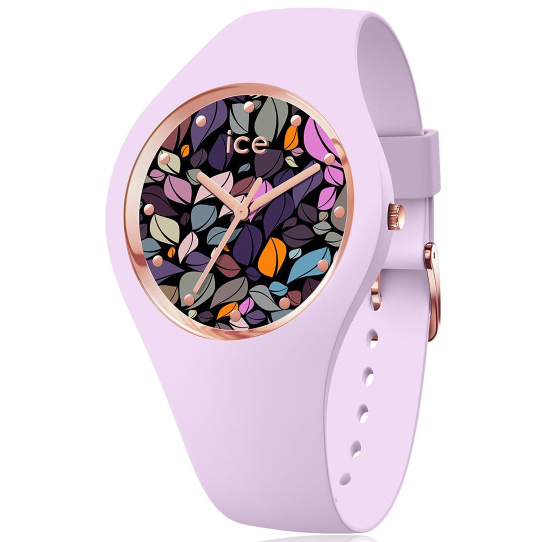 Ice-Watch Women's Flower 017580 Pink Silicone Quartz Fashion Watch