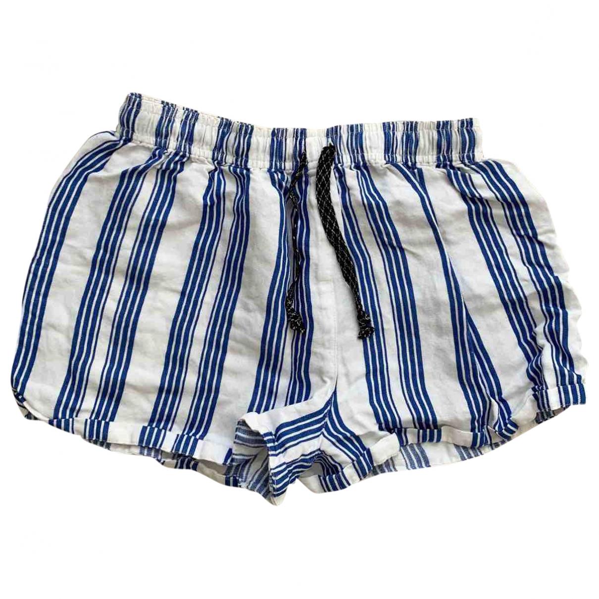 Bellerose \N White Cotton Shorts for Women 0 0-5