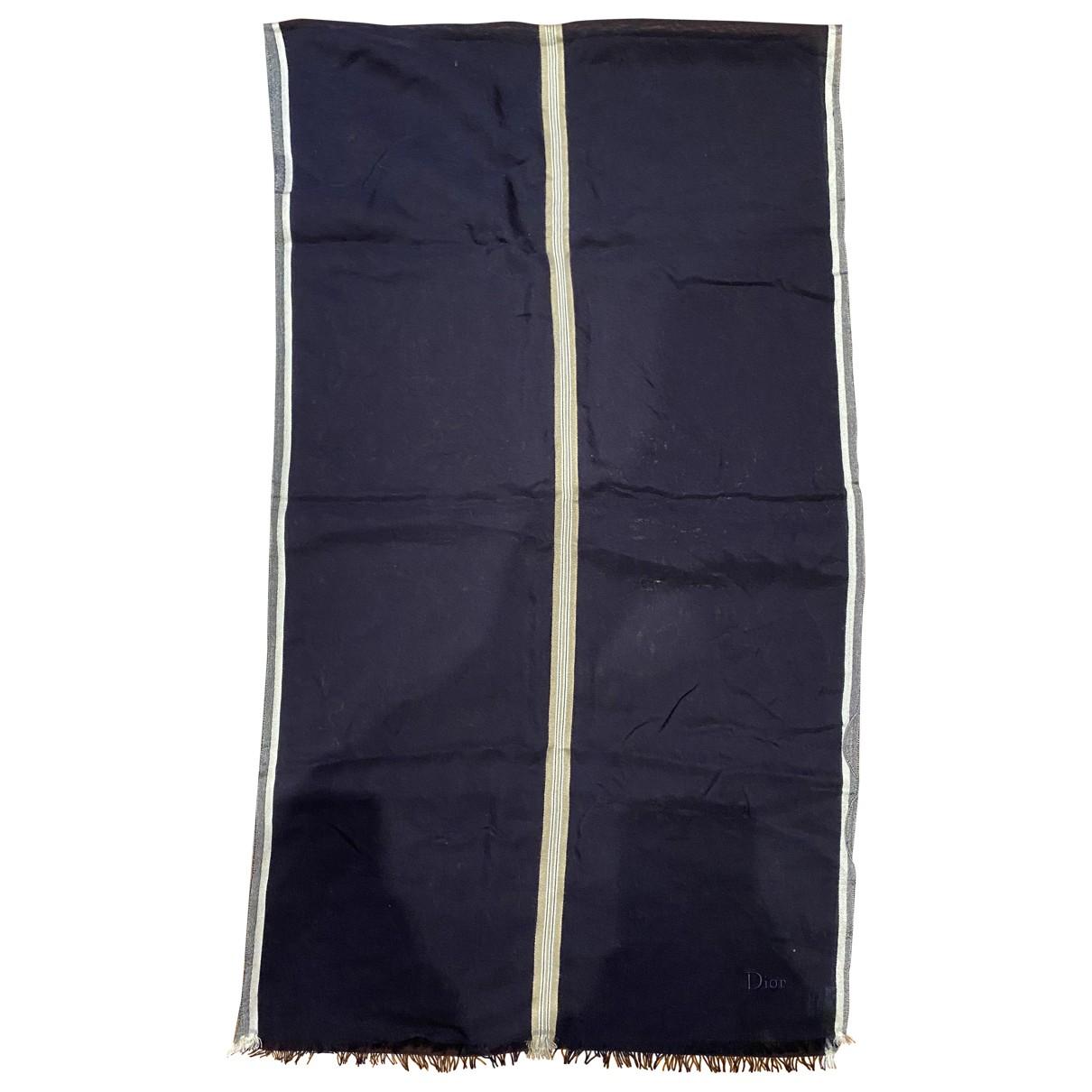 Dior Homme \N Blue Cotton scarf & pocket squares for Men \N