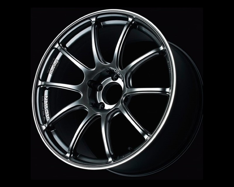 Advan RZII Wheel 16x7 5x114.3 45mm Racing Hyper Black