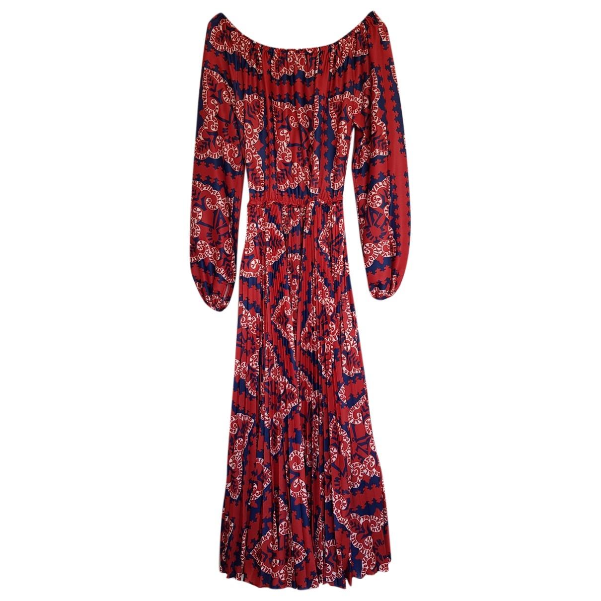 Valentino Garavani \N Red Silk dress for Women S