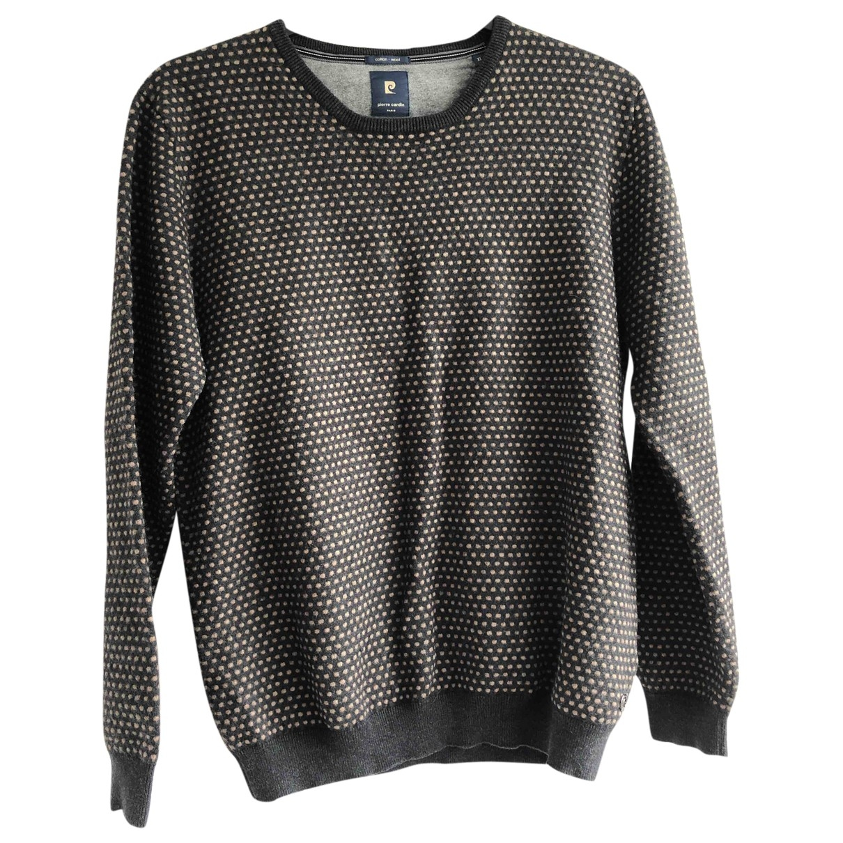 Pierre Cardin \N Black Wool Knitwear & Sweatshirts for Men XL International