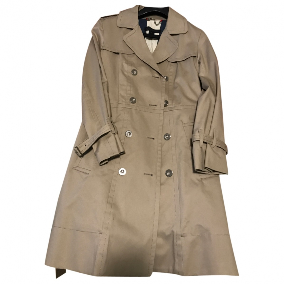 Marc By Marc Jacobs \N Beige Cotton Trench coat for Women L International