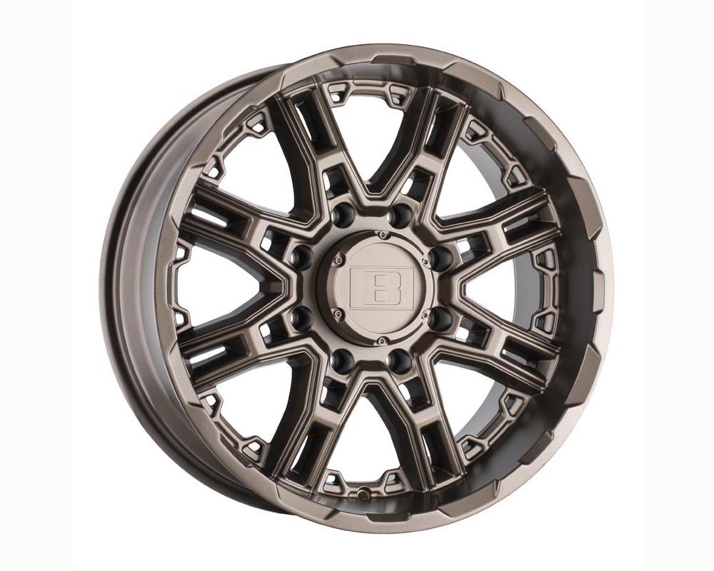 Level 8 Slingshot Wheel 20x9 6x135 10 Matte Bronze