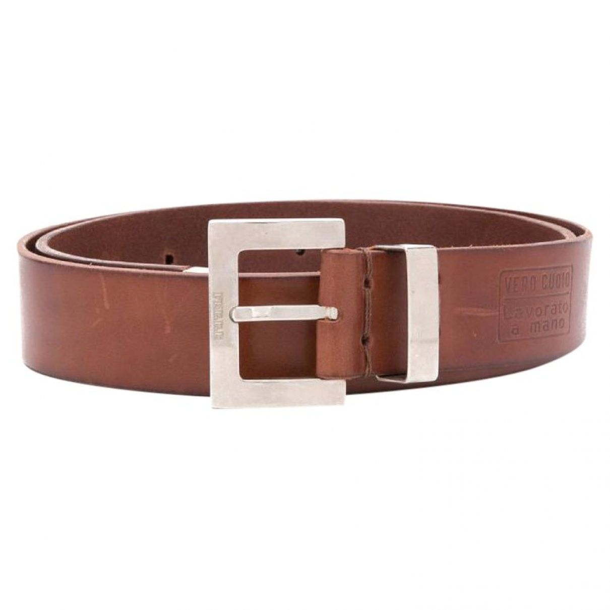 Gianfranco Ferré \N Brown Leather belt for Men 90 cm