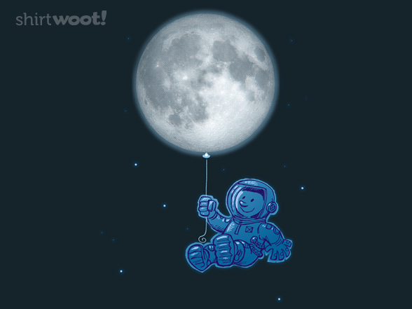 Blue Balloon T Shirt