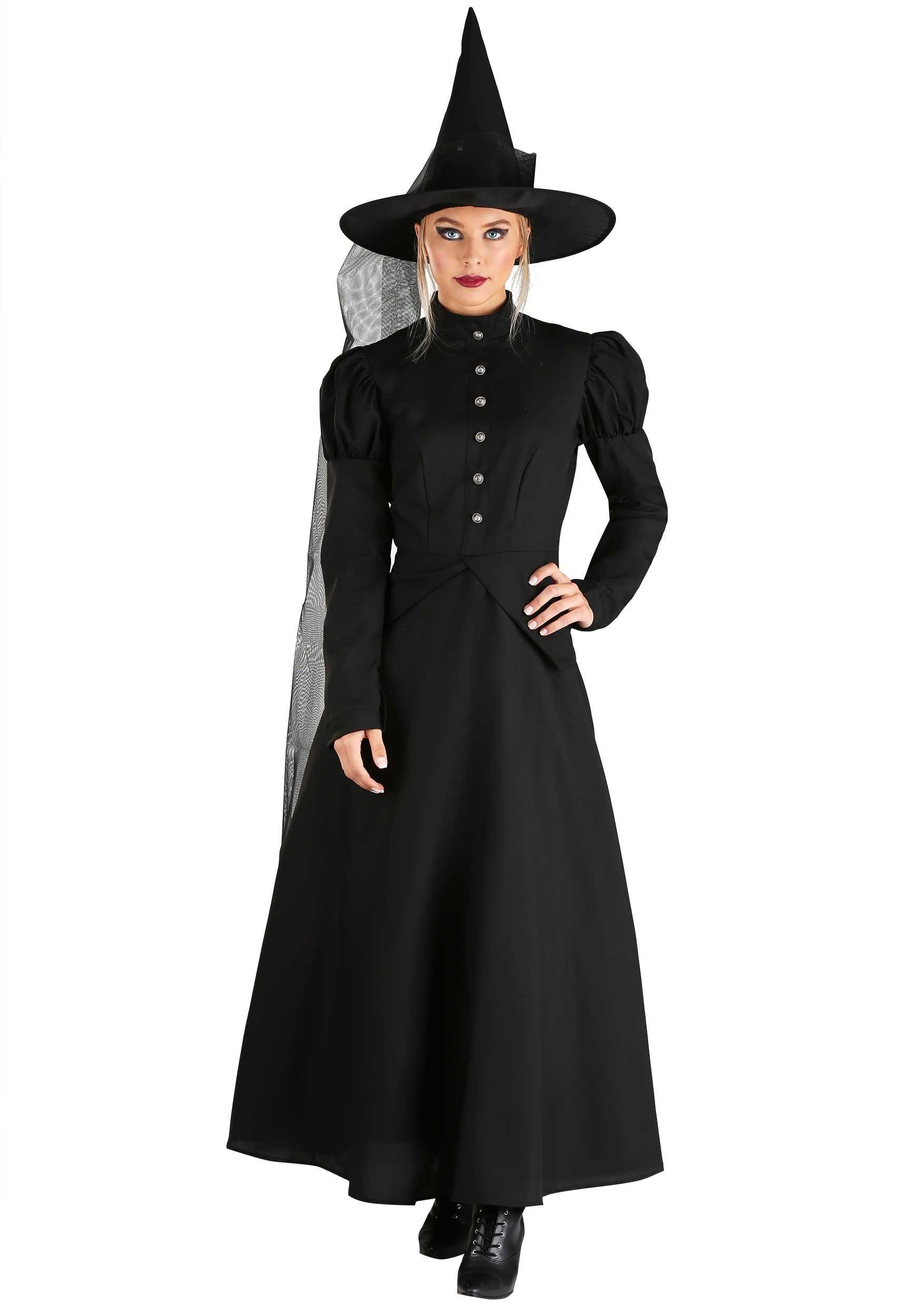 Deluxe Witch Costume for Women   Wicked Witch Costume   Exclusive