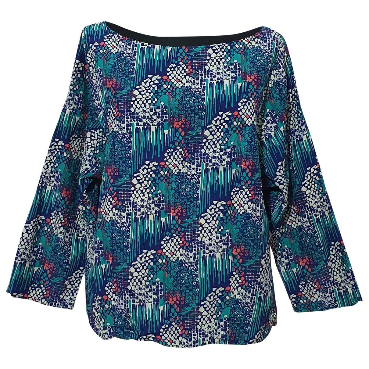 Cos \N Multicolour Silk  top for Women 42 FR