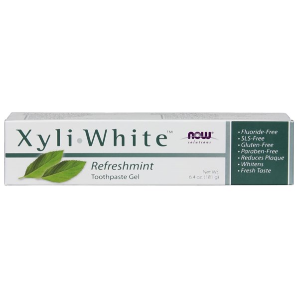 Xyliwhite Refreshmint Toothpaste Gel 6.4 Oz by Now Foods