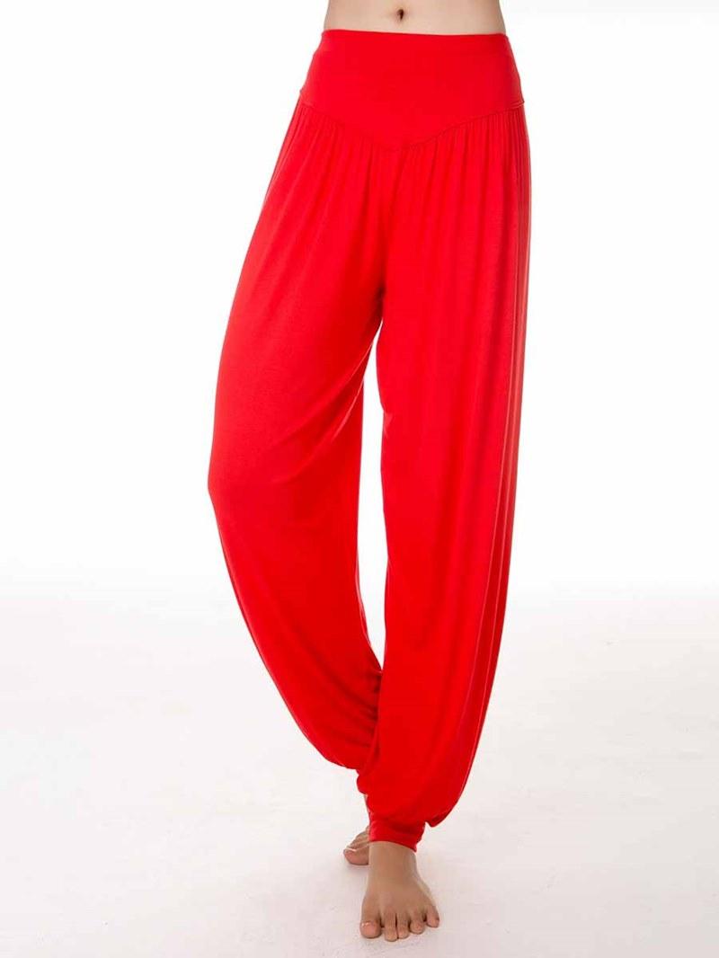 Ericdress Women Modal Solid Breathable Yoga Harem Pants