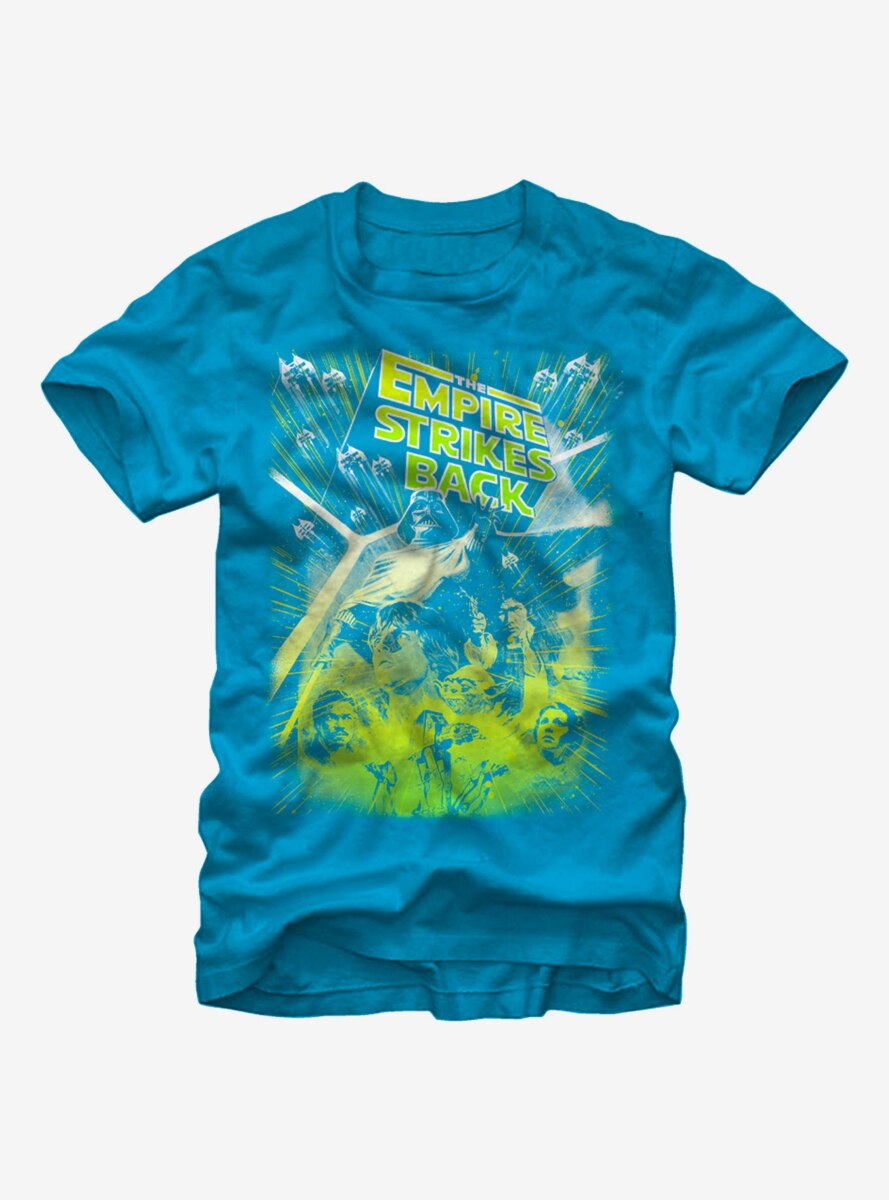 Star Wars Bright Empire Strikes Back T-Shirt