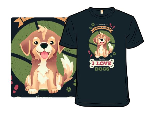 I Love Canines T Shirt