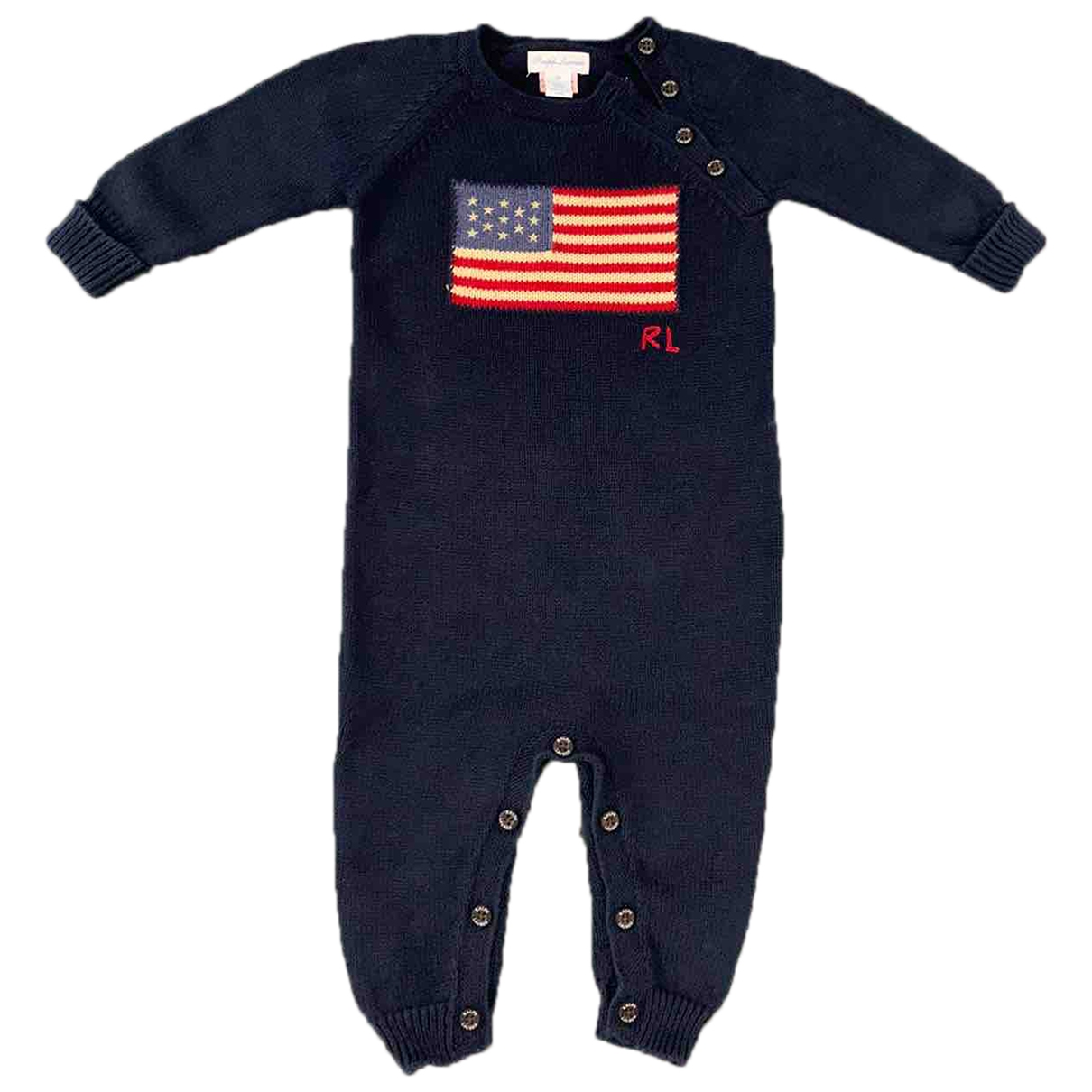 Ralph Lauren \N Blue Cotton Outfits for Kids 9 months - up to 71cm FR